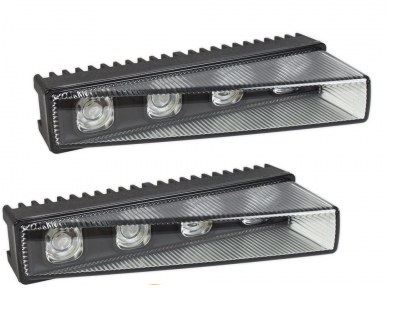 "LED DRL Premium Line ""Short 17°"" black"