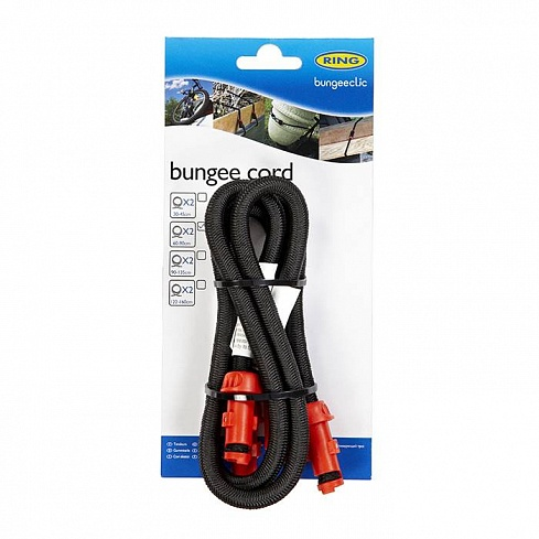 Bungee Clic 60cm Cords x 2 Ring