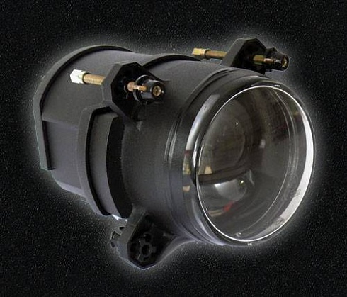 90 mm LED Low Beam chrom/black SAE