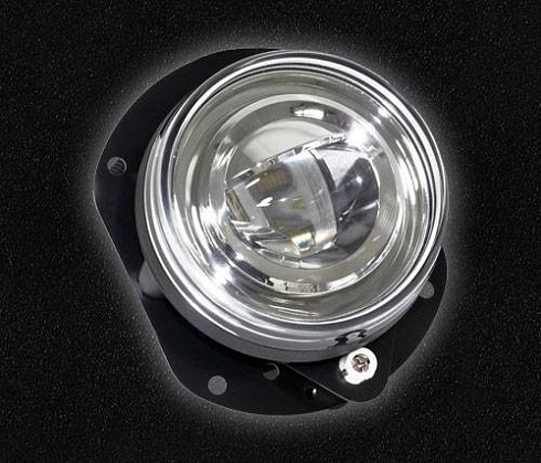 90 mm LED Fog Light black ECE/SAE