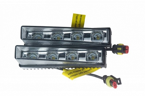 "LED DRL Premium Line ""Short 17°"" chrome"