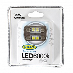 LED C5W 6000K Ring Ice White RW2396LED
