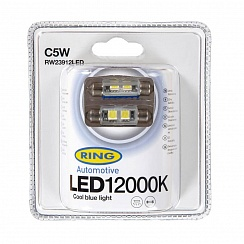 LED C5W 12000K Ring Cool Blue RW23912LED